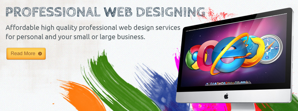 Professional Web Designing